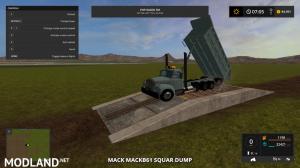 mack B61 dump truck , 2 photo