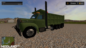 mack B61 dump truck fixed