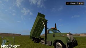 mack B61 dump truck fixed, 3 photo