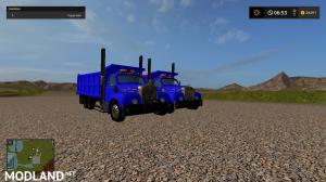 mack B61 dump truck fixed, 4 photo