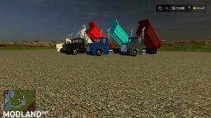 freightliner dump truck, 2 photo