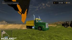 freightliner dump truck, 1 photo