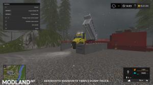 kenworthT880 dump truck V4, 12 photo
