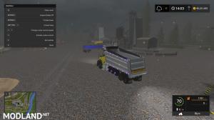 kenworthT880 dump truck V4, 13 photo