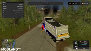 kenworthT880 dump truck V4, 17 photo