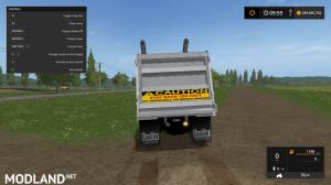 kenworthT880 dump truck V4, 34 photo