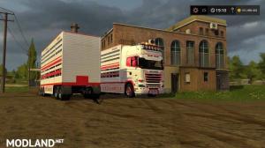 FS17 Scania R730 animal transports, 2 photo