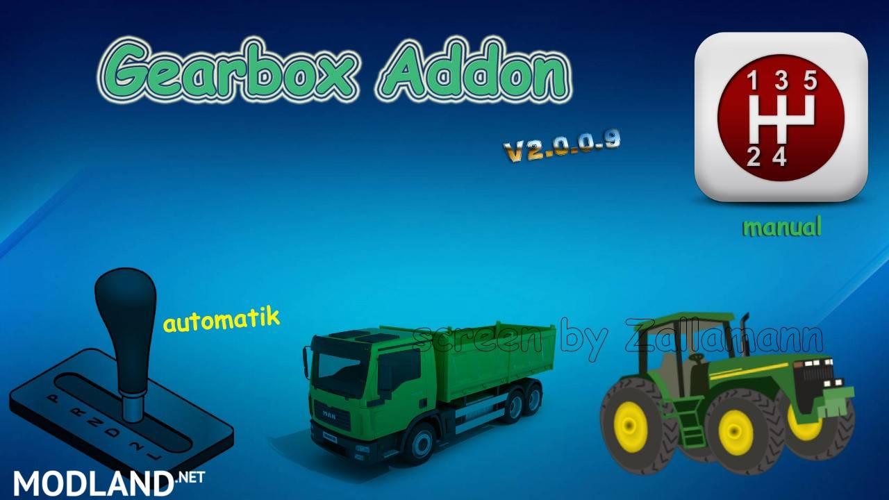 Gearbox Addon V2 0 0 9 Mod Farming Simulator 17