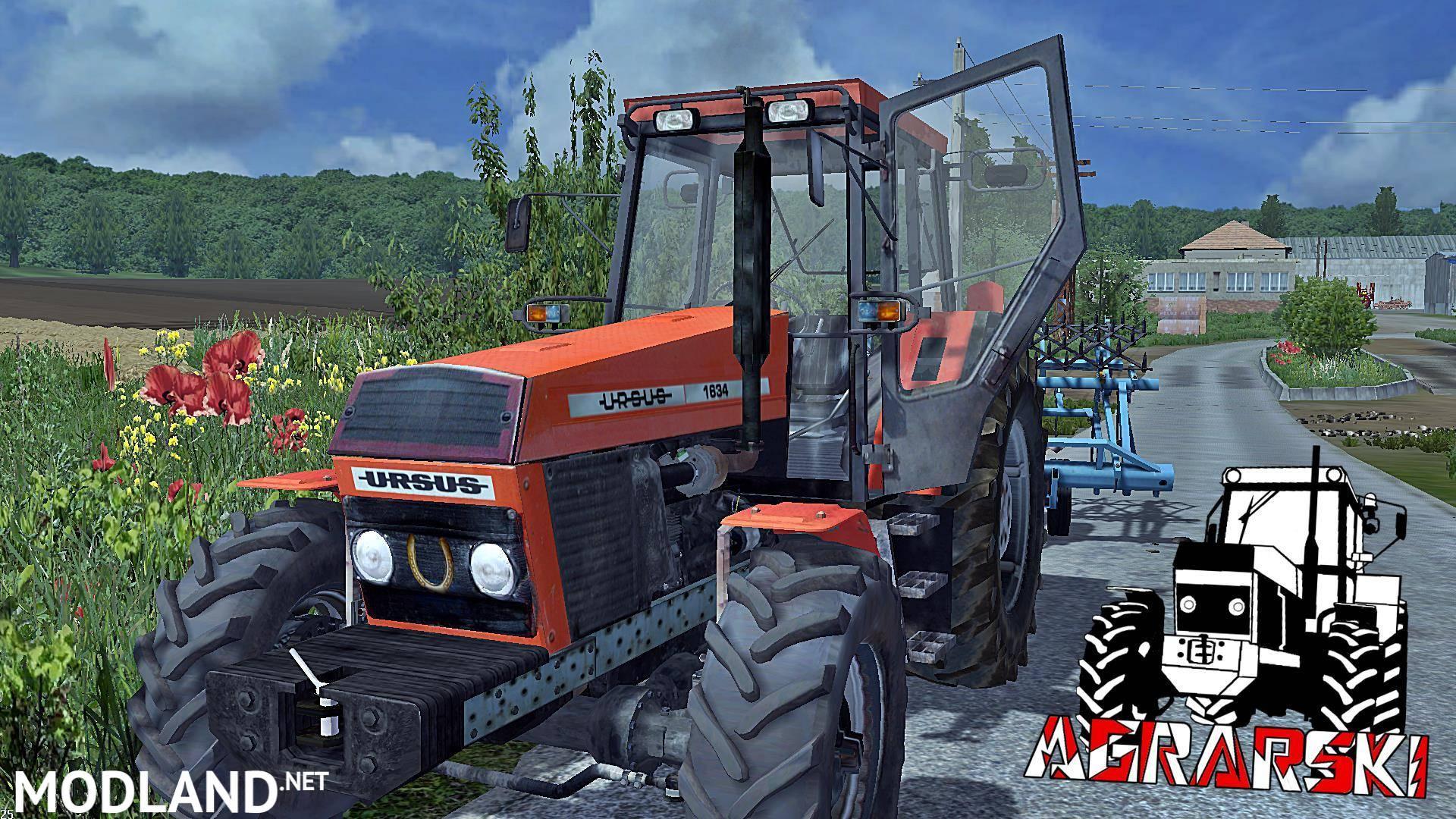 Ursus 1634 Fs17 V 1 0 Mod Farming Simulator 17