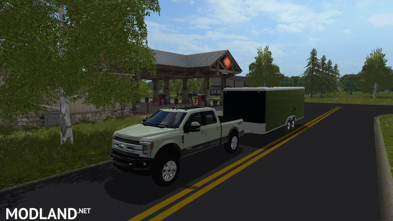 2018 F350 King Ranch >> 2018 Ford F350 King Ranch mod Farming Simulator 17