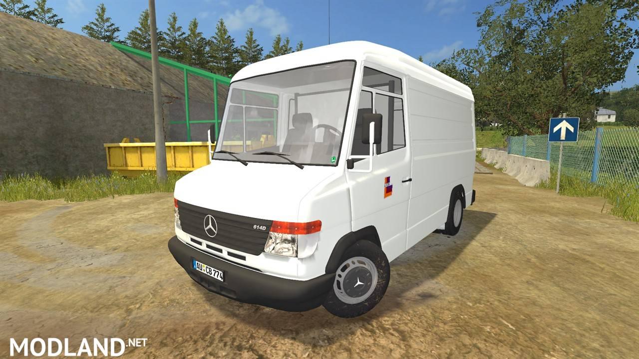 mercedes benz vario 614d mod farming simulator 17. Black Bedroom Furniture Sets. Home Design Ideas