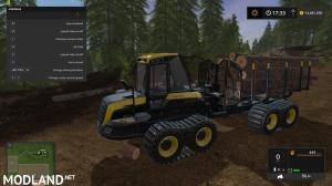 Ponsse Buffalo with autoload and loading aid v 1.1