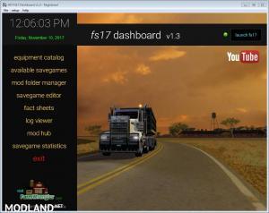 FS17 Dashboard v 1.3