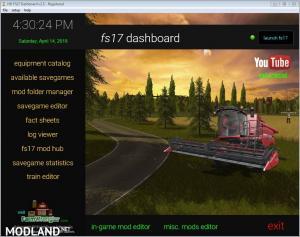 FS17 Dashboard v 2.5
