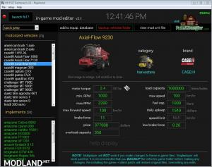 FS17 Dashboard v 2.1