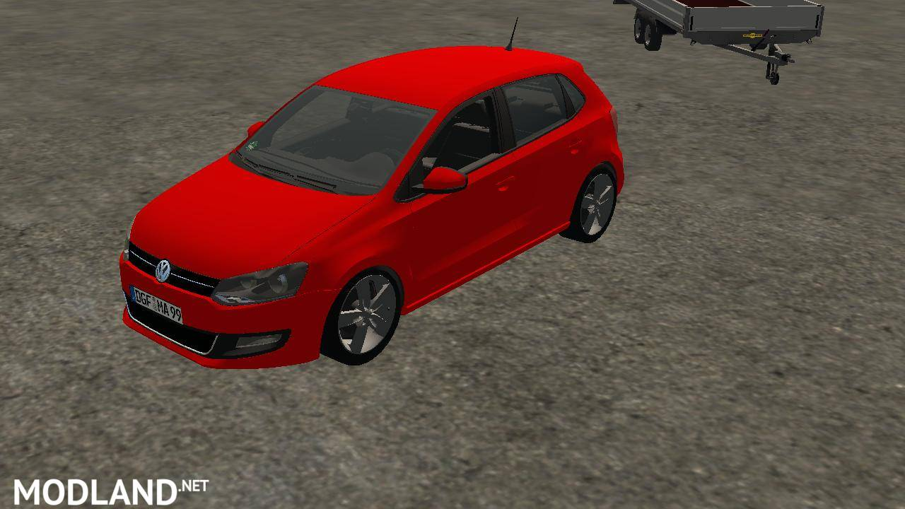 volkswagen polo 5 tdi v 1 0 mod farming simulator 17. Black Bedroom Furniture Sets. Home Design Ideas