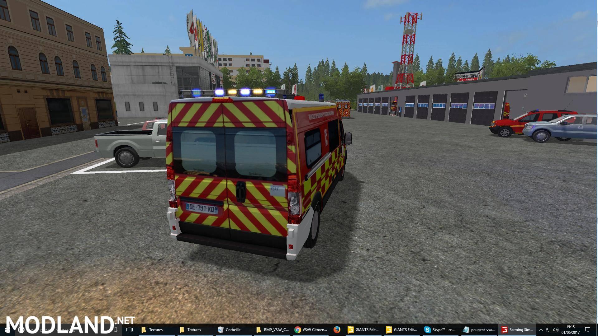 John Deere Sprayer >> VSAV Citroen Jumper SDIS 38 | Sapeurs pompiers v 1.0 mod ...