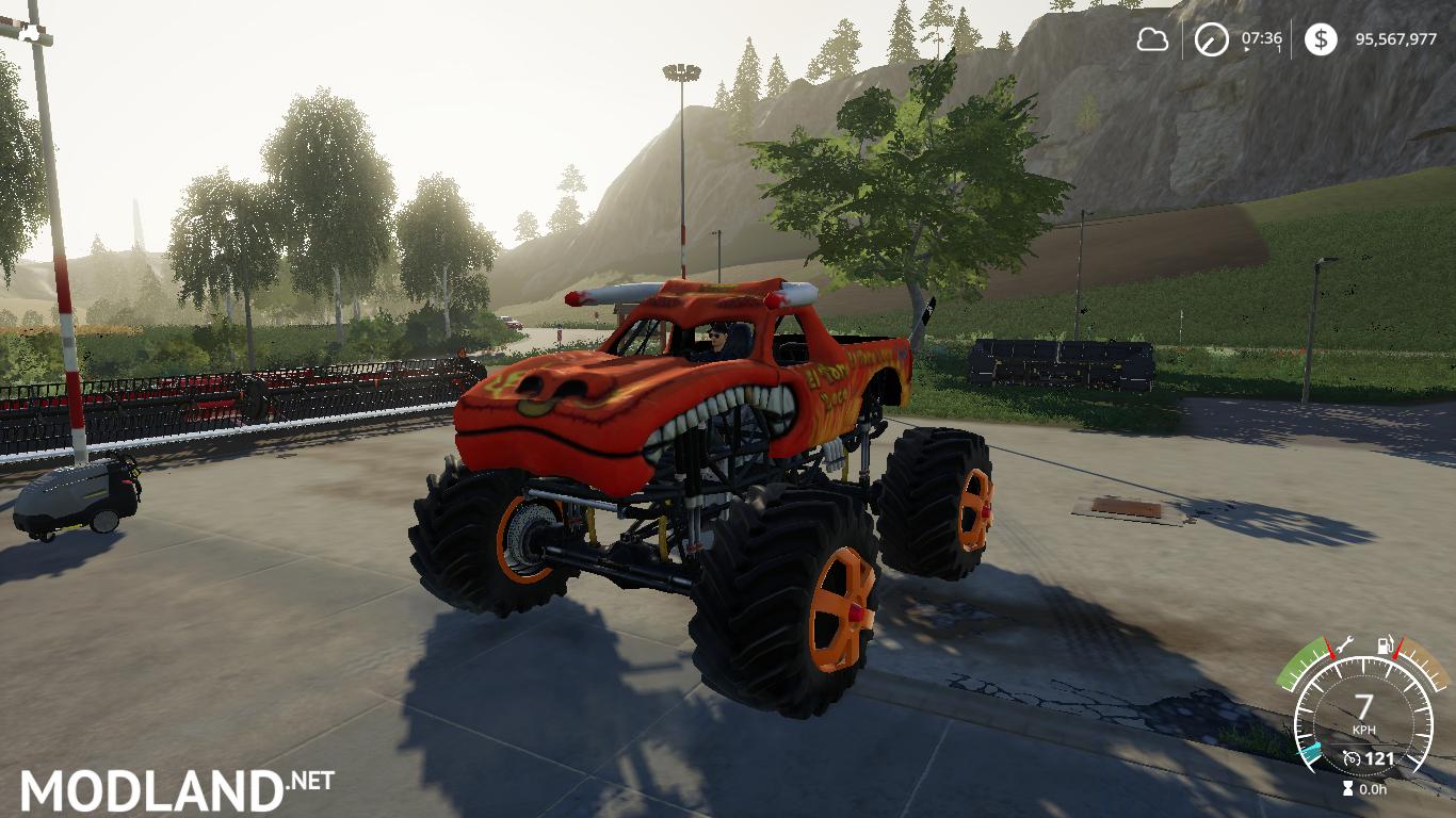 FS19 Monster Truck ToroLoco
