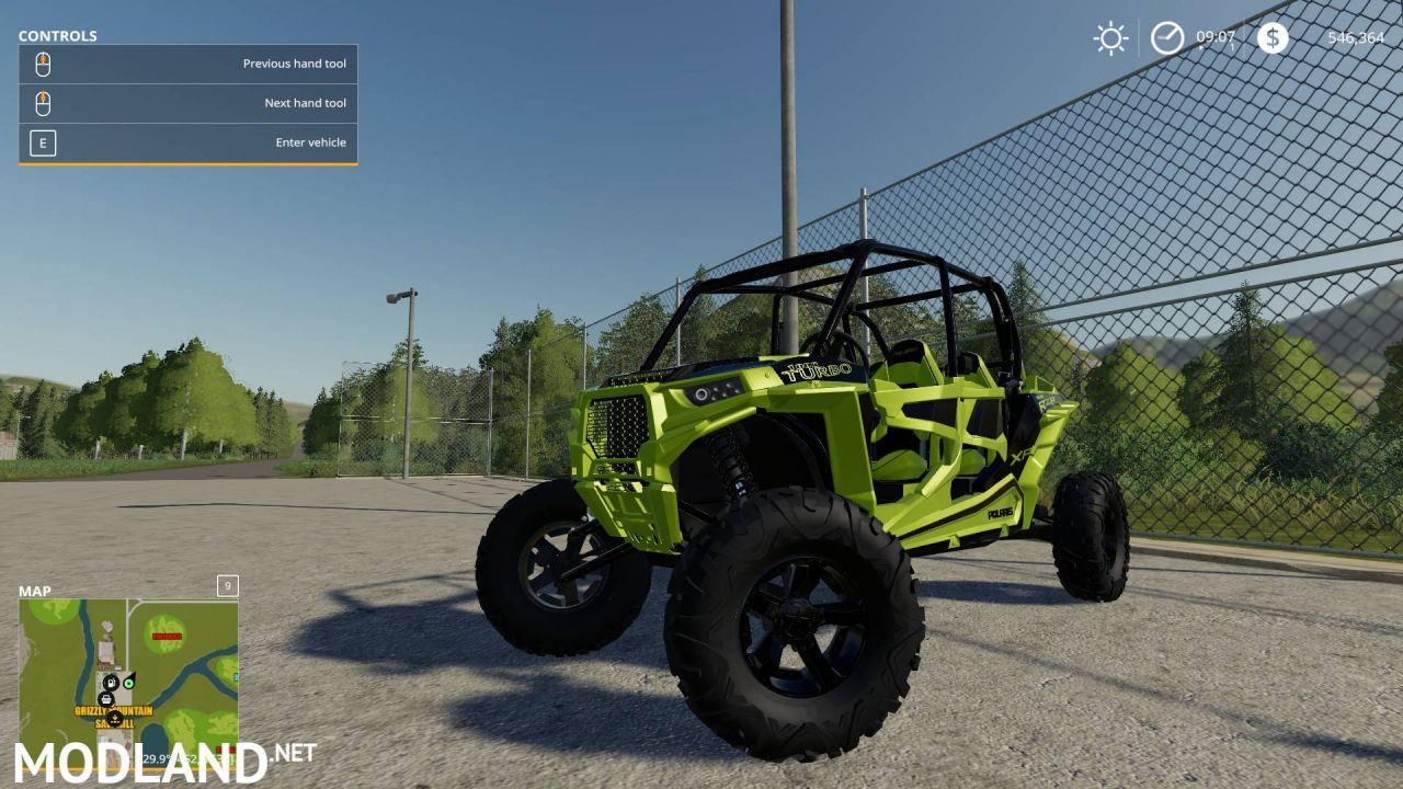 RZR 4 door Full Susupension