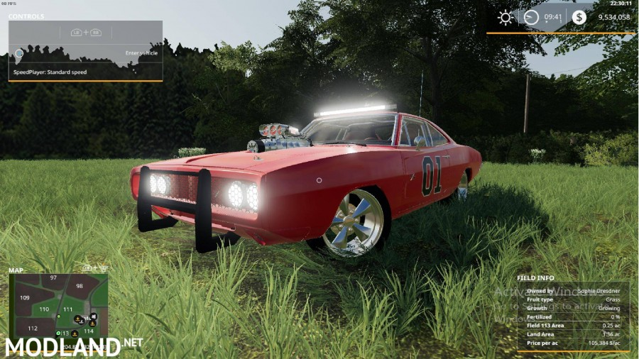 FS 19 1970 Charger General Lee