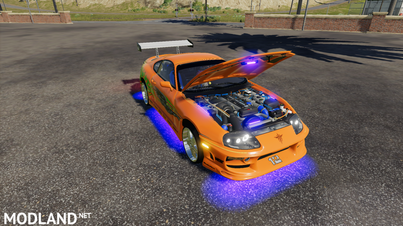 Fs19 Toyota Supra fast 1