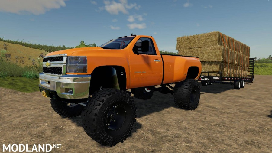 Lifted 2013 Chevy 3500HD