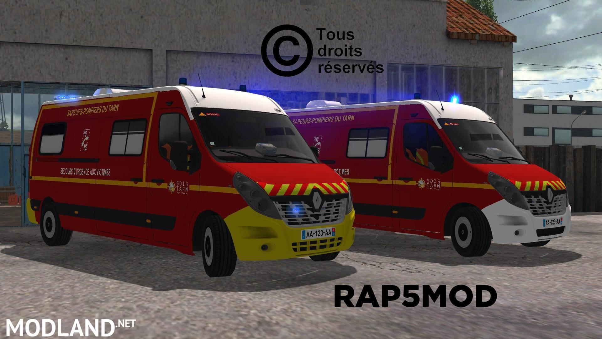 Renault Master SDIS81 v 1 0