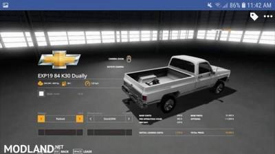 1984 Chevrolet k30 v1.0, 1 photo