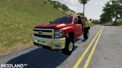 2010 Silverado 2500HD Flatbed v 1.0, 2 photo