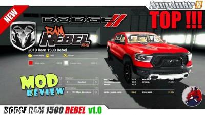Dodge Ram 1500 Rebel v 1.1, 1 photo