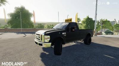 Dodge Rebel With OVERSIZE LOAD sign v 1.0, 1 photo