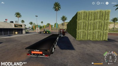Fliegl flatbed squarebale autoload v 1.0.3, 2 photo