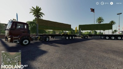 Fliegl flatbed squarebale autoload v 1.0.3, 5 photo