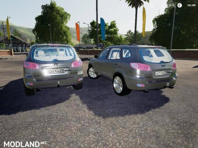 HYUNDAI SANTA FE II v 1.0, 3 photo
