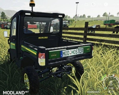 John Deere XUV865M Gator with 46ps v 1.0