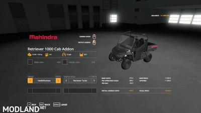 Mahindra Retriever Pack v 1.2, 2 photo