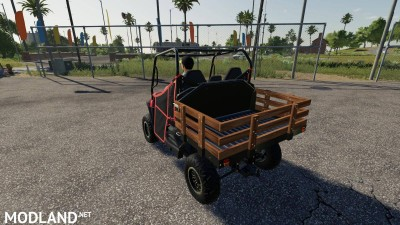 Mahindra Retriever Wooden Stake Bed v 1.1