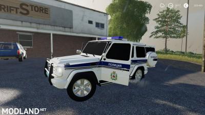 Mercedes-Benz G55 AMG Police v 1.0