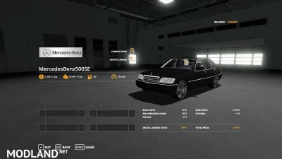 Mercedes-Benz W140 v 1.0, 3 photo