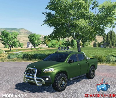 Mercedes X class v 1.0, 4 photo