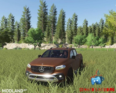 Mercedes X class v 1.0, 1 photo