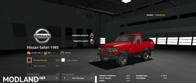 Nissan Safari 1985 v 1.0, 3 photo