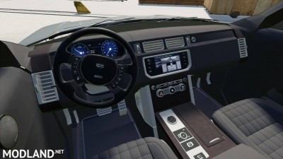 Range Rover Vogue Black Edition v 1.0, 3 photo