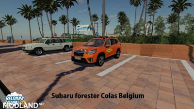 Subaru Forester Colas Belgium Skin v 1.0, 1 photo