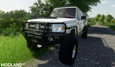 Toyota Land Cruiser 70 v 1.0, 11 photo