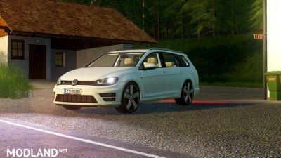 Volkswagen Golf R Variant 2015 v 1.6, 1 photo
