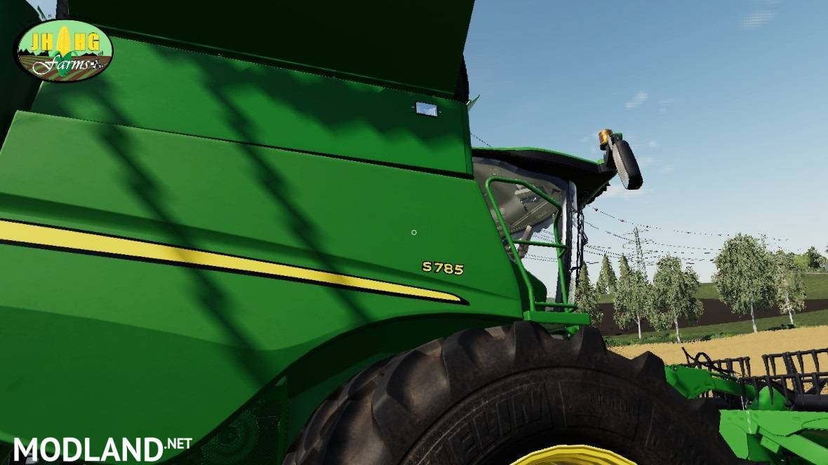John Deere S700 USA Series