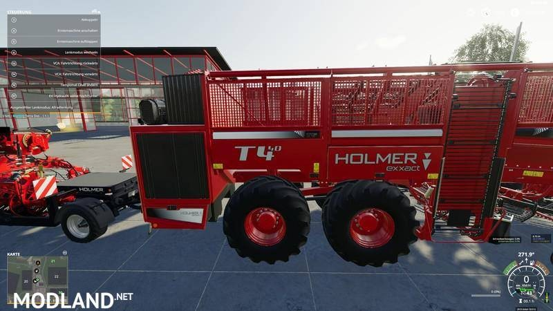 Holmer pack for potatoes and sugar beets