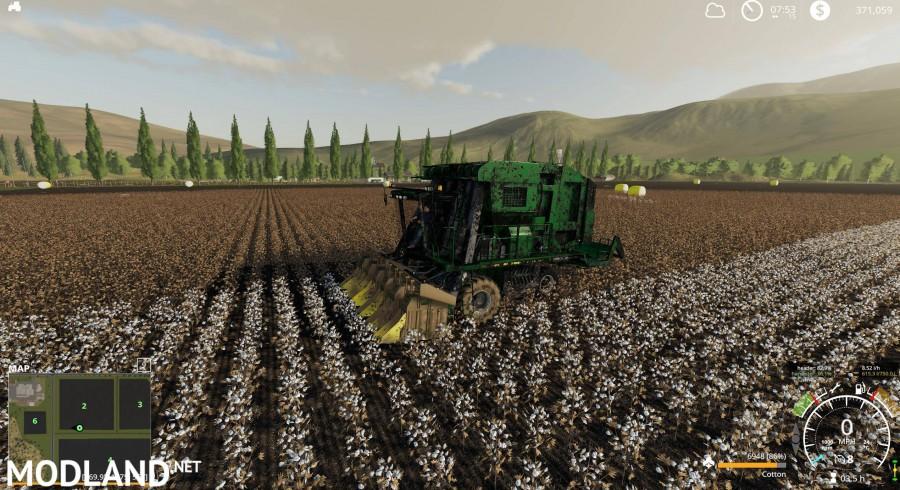 John Deere 7760 Cotton Baler