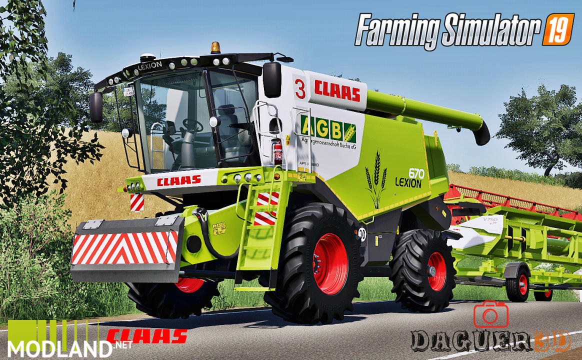 Claas Lexion 600 Series(Old Generation)